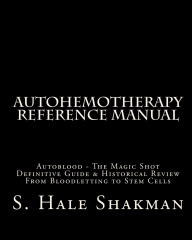AUTOHEMOTHERAPY REFERENCE MANUAL COVER